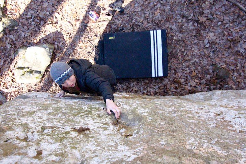Rock Climbing Photo: Pommel Horse, V0