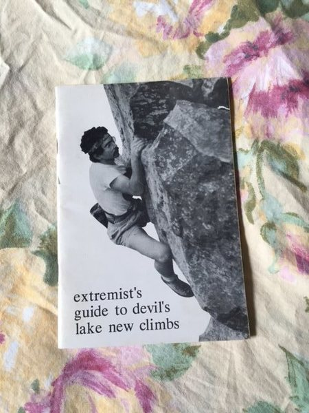 Rock Climbing Photo: Extremist's Guide 1985.