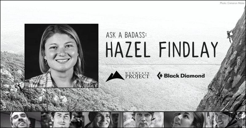 Rock Climbing Photo: Ask a Badass: Hazel Findlay