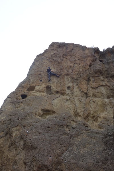Rock Climbing Photo: Leading Low Blow