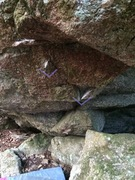 Rock Climbing Photo: Starting holds