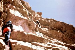 Rock Climbing Photo: Gertch's Folly roofs--spring 1975  Glen Banks ...