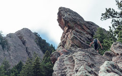 Rock Climbing Photo: Afternoon cruise.