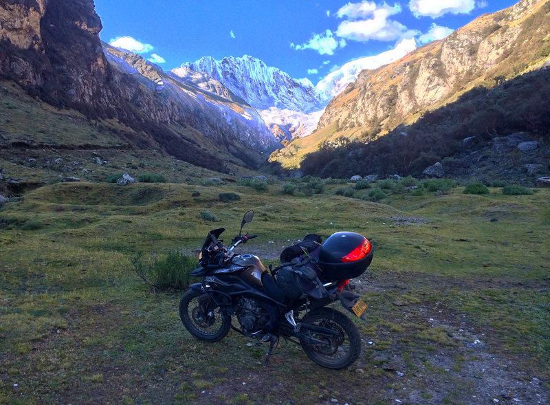 Rock Climbing Photo: Riding up the valley of Quebrada Llaca