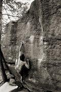 Rock Climbing Photo: Bouldering at the Satellites