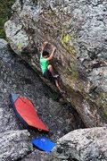 Rock Climbing Photo: Dan Beall Element of Surprise V12
