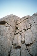 Rock Climbing Photo: Joker relatively near the crux
