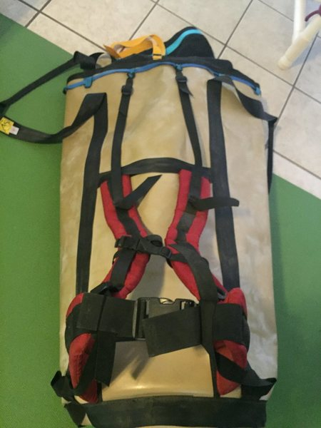 Rock Climbing Photo: Haul bag