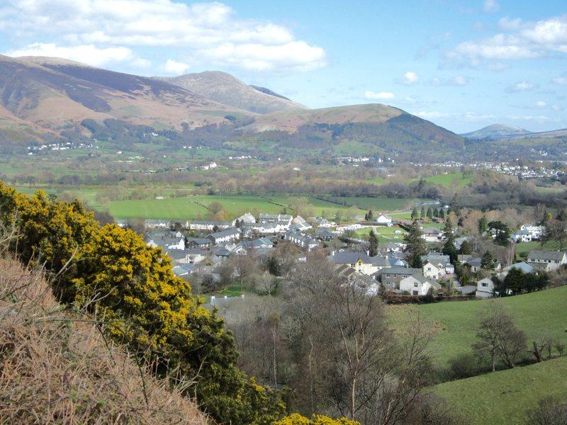 Rock Climbing Photo: Village of Braithwaite