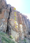 Rock Climbing Photo: Secret Passage