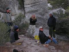 Rock Climbing Photo: Hanging out with Brad Shilling, Rick Westbay, Wayn...
