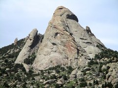 Rock Climbing Photo: Stienfell's Dome. Jackson's Thumb is on th...