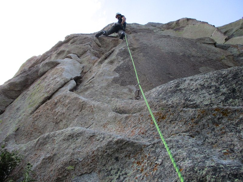 Rock Climbing Photo: Fall Line.
