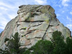 Rock Climbing Photo: Upper Breadloaves as seen from the parking lot at ...