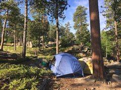 Rock Climbing Photo: Dispersed free camping.