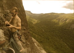 Rock Climbing Photo: Linville Gorge!