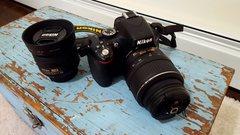 Camera + lenses