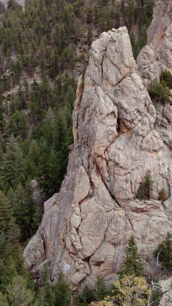 Rock Climbing Photo: Near Drake 1