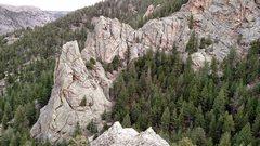 Rock Climbing Photo: Near Drake 2