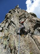 Rock Climbing Photo: Petite Grepon, P1