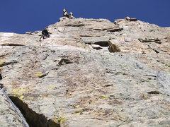 Rock Climbing Photo: Petite Grepon, P3