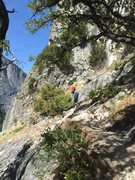 Rock Climbing Photo: This way to Jo Jo
