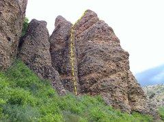Rock Climbing Photo: Rib Cage, Early Bird Crag