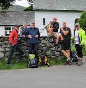 Rock Climbing Photo: Hiking   June16th 2016  Outside Newlands Church .....