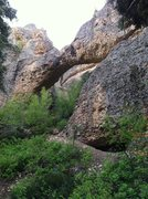 Rock Climbing Photo: Arch in the Middle Fork