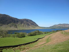 Rock Climbing Photo: Crummock water.