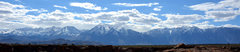 Rock Climbing Photo: The Sierra Nevada skyline from the top of the Tabl...