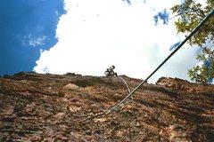 Rock Climbing Photo: El Segundo, North Lake, 2002.