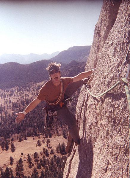 Rock Climbing Photo: Orange Julius. Nothin' but fun!