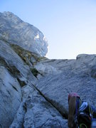 Rock Climbing Photo: Perhaps already sensing the pending failure of our...