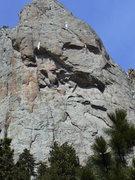Rock Climbing Photo: Sundance Buttress in the late fall!