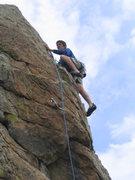 Rock Climbing Photo: Short, clean fun  2006