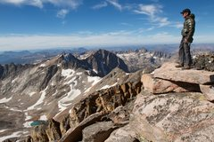 Granite Peak, Sept 2014 <br /> <br />Photo by Steve Story
