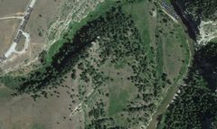 Rock Climbing Photo: satellite photo of another area with lots of nice ...