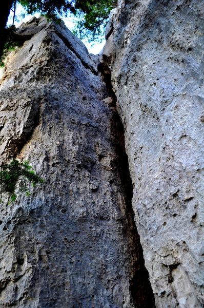Limestone offwidth