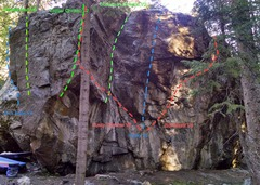 Rock Climbing Photo: Husky Boulder.