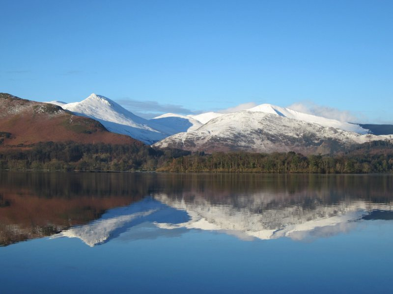 Causey and Grisdale Pikes  .. Winter