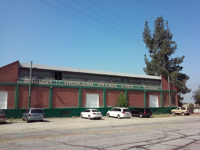 Highland Citrus Association packing house, Inland Empire
