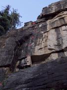 Rock Climbing Photo: Sylas.