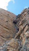 Rock Climbing Photo: Logan on Komodo
