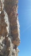 Rock Climbing Photo: Nice to be able to climb in the sun