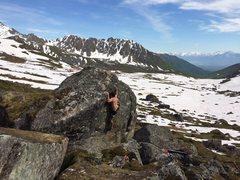 Rock Climbing Photo: Chris on Paulo Goes North
