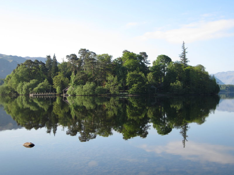 Rock Climbing Photo: Derwent Island .. English Lake District