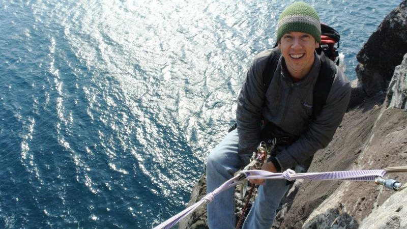 Seacliff Climbing in Korea