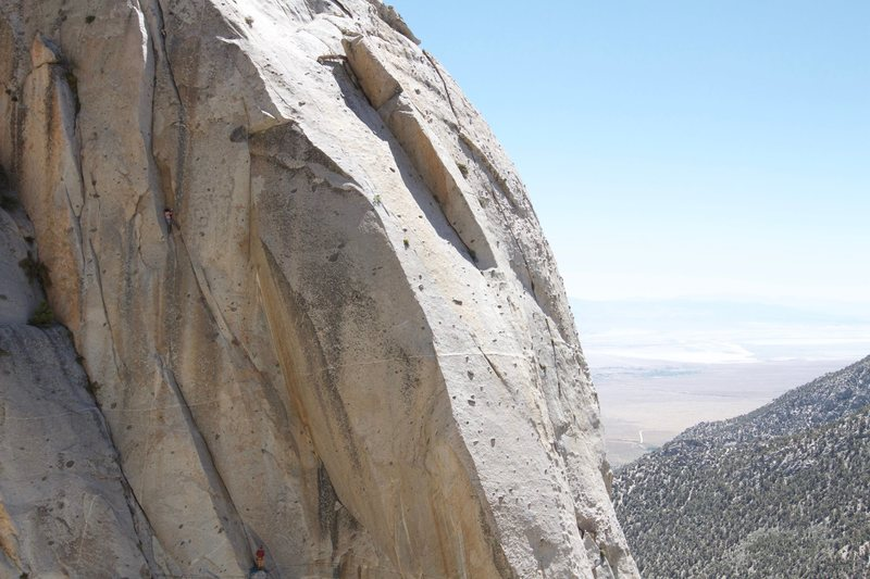 High up on Killer Whale. Photo by Jason Hudson.