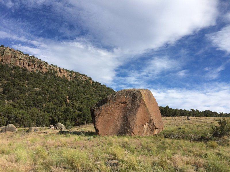 Rock Climbing Photo: The Iron Mine Boulder.